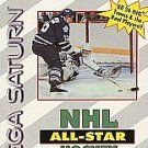 NHL All-Star Hockey Sega Saturn Complete Fast Shipping