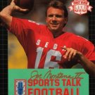 Joe Montana 2 Sports Talk Football Sega Genesis Great Condition Complete