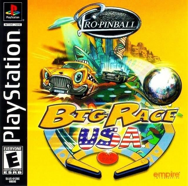 Pro Pinball Big Race USA PS1 Great Condition Fast Shipping