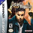 Dead to Rights GBA Brand New Fast Shipping