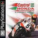 Castrol Honda Superbike Racing PS1 Mint Condition