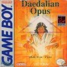 Daedalian Opus Gameboy Great Condition Fast Shipping