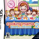 Cooking Mama 2 Dinner With Friends Nintendo DS Great Condition Complete