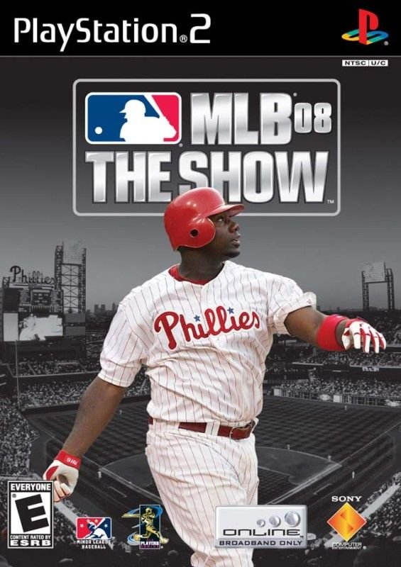 MLB 08 The Show PS2 Great Condition Complete Fast Shipping