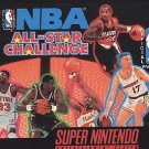 NBA All-Star Challenge SNES Great Condition