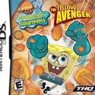 SpongeBob SquarePants The Yellow Avenger Nintendo DS Great Condition Complete