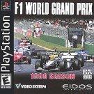 F1 World Grand Prix: 1999 Season PS1 Great Condition