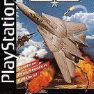 Top Gun Fire At Will PS1 Great Condition Fast Shipping