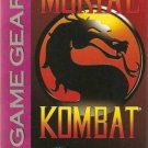 Mortal Kombat Game Gear Great Condition Fast Shipping