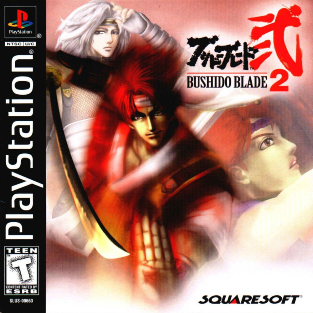 Bushido Blade 2 PS1 Great Condition Complete Fast Shipping