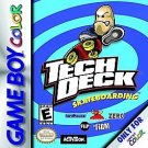 Tech Deck Skateboarding Gameboy Color Great Condition
