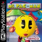 Ms. Pac-Man Maze Madness PS1 Great Condition Complete