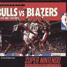 Bulls Vs. Blazers SNES Great Condition Fast Shipping