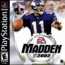 Madden NFL 2002 PS1 Great Condition Complete