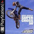 Jeremy McGrath Supercross 98 PS1 Great Condition