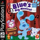 Blue's Clues Blue's Big Musical PS1 Complete