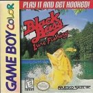 Black Bass Lure Fishing Gameboy Color Great Condition