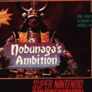 Nobunaga's Ambition SNES Great Condition Fast Shipping