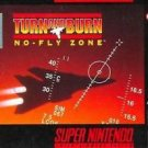 Turn And Burn No Fly Zone SNES Great Condition Fast Shipping