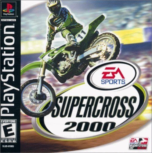 Supercross 2000 PS1 Great Condition Complete Fast Shipping