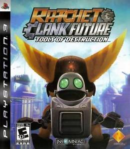 Ratchet & Clank Future Tools Of Destruction PS3 Great Condition Complete