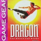 Dragon The Bruce Lee Story Game Gear Great Condition Fast Shipping
