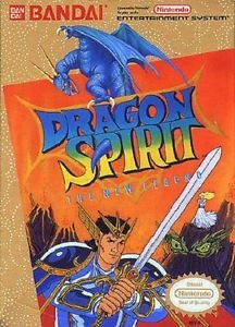 Dragon Spirit The New Legend NES Great Condition Fast Shipping