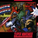 Captain America And The Avengers SNES Great Condition Fast Shipping