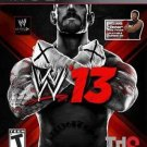 WWE '13 PS3 Great Condition Complete Fast Shipping