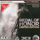 Medal Of Honor Limited Edition PS3 Great Condition Complete Fast Shipping