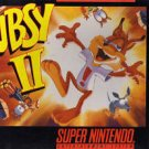 Bubsy 2 SNES Great Condition Fast Shipping