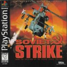 Soviet Strike PS1 Great Condition Complete Fast Shipping