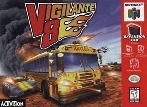 Vigilante 8 N64 Great Condition Fast Shipping