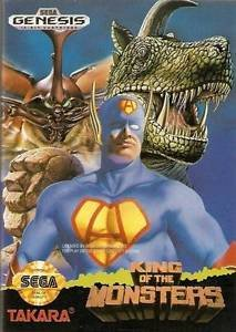 King Of The Monsters Sega Genesis Great Condition Fast Shipping