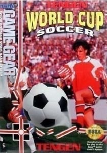 Tengen World Cup Soccer Game Gear Great Condition Fast Shipping