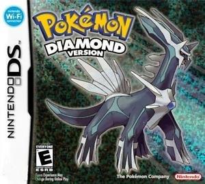 Pokemon Diamond Version Nintendo DS Great Condition Complete Fast Shipping