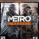 Metro Redux PS4 Great Condition Complete Fast Shipping