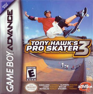 Tony Hawk's Pro Skater 3 GBA Great Condition Fast Shipping