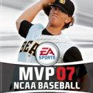 MVP 07 NCAA Baseball PS2 Great Condition Fast Shipping