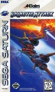 Galactic Attack Sega Saturn Great Condition Complete Fast Shipping