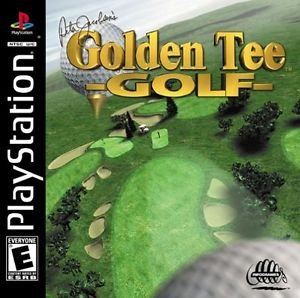 Peter Jacobsen's Golden Tee Golf PS1 Great Condition Complete Fast Shipping