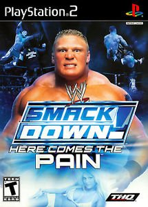 WWE Smackdown! Here Comes The Pain PS2 Great Condition Complete Fast Shipping