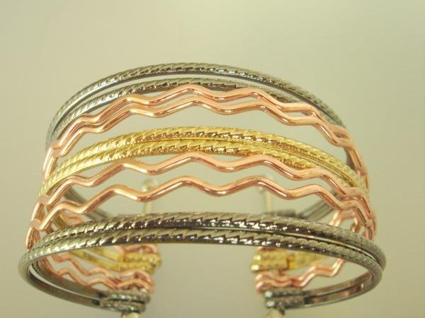 10-in-1 Cuff Alloy Bangle