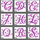 Embroidery Curvy Vine Fonts