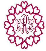 Monogram Flipped Frame Embroidery File