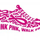 Think Pink Walk Proud Breast Cancer SVG,EPS,PNG,DXF,JPG,and PDF files