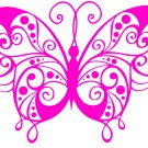 Butterflies with Dots and Swirls SVG,DXF,PNG,EPS,JPG,and PDF files