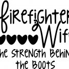 Fire Fighter Wife SVG,EPS,PNG,DXF,JPG,and PDF files