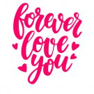 Forever Love You SVG,EPS,JPG,PNG,DXF,and PDF files