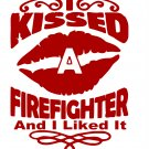 I Kissed a Fire Fighter and Liked It SVG INSTANT DOWNLOAD